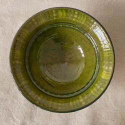 French Country Pottery Salad Bowl - FCPBSA4