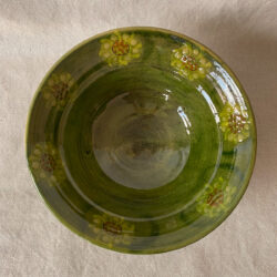 French Country Pottery Salad Bowl - FCPBSA6