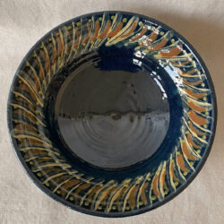 French Country Pottery Salad Bowl - FCPBSA7