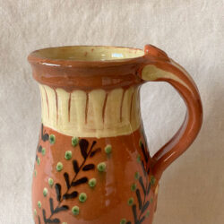 French Country Pottery Hungarian Pitcher - FCPHUP2