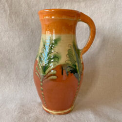 French Country Pottery Hungarian Pitcher - FCPHUP4
