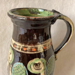 French Country Pottery Hungarian Pitcher - FCPHUP5