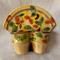 French Country Pottery Kitchen Pannier - FCPKP1