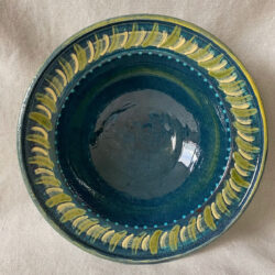 French Country Pottery Deep Bowl - FCPLBOW1