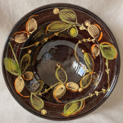 French Country Pottery Deep Bowl - FCPLBOW2