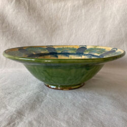 French Country Pottery Deep Bowl - FCPLBOW3