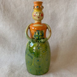 French Country Pottery Lucie Candlestick - FCPMADG4