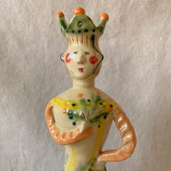 French Country Pottery Lucie Candlestick - FCPMADG5