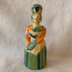 French Country Pottery Medium Lucie Candlestick - FCPMADM1