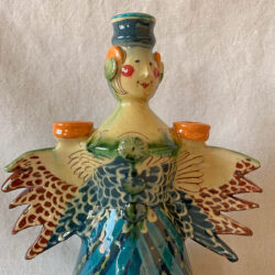 French Country Pottery Grande Lucie Candlestick -FCPMAGO3