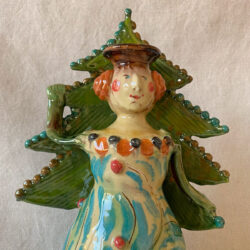 French Country Pottery Grande Lucie Candlestick -FCPMAGO5