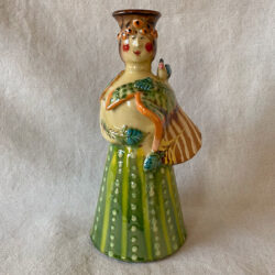 French Country Pottery Grande Lucie Candlestick -FCPMAGO6