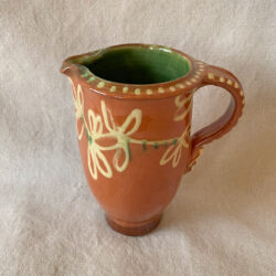 French Country Pottery Pitcher - FCPPIC3