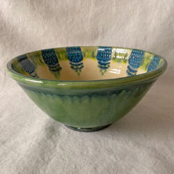 French Country Pottery Deep Salad Bowl - FCPSALA2