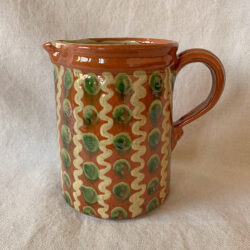 French Country Pottery Large Savoyard Jug - FCPSAVL3