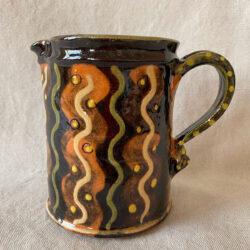 French Country Pottery Small Savoyard Jug - FCPSAVS2