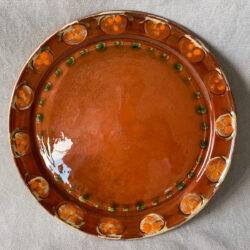 French Country Pottery Tart Platter - FCPTAPL6