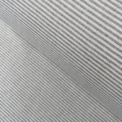 Slate Extra Wide Strand Narrow Stripe Tinsmiths