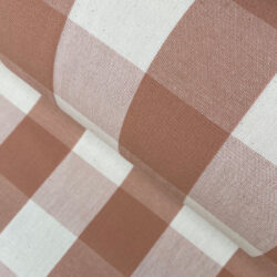 Whitstable Large Check Apricot