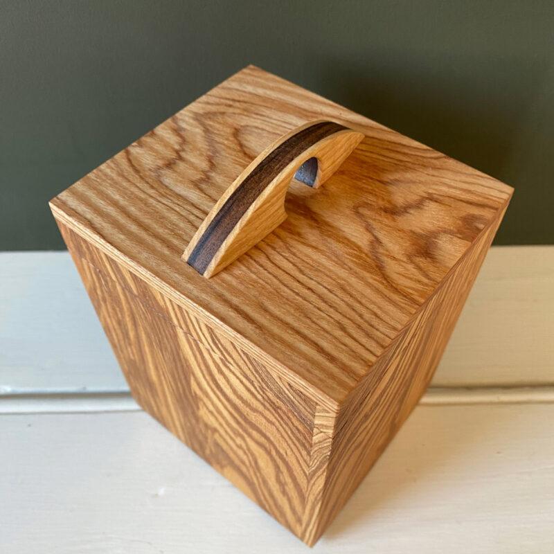 Hardwood Caddy - Ash & Walnut
