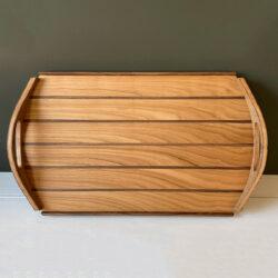 Hardwood Serving Tray - Cherry & Walnut