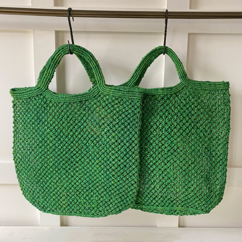 Handmade Jute Macramé Bag
