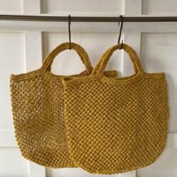 Handmade Jute Macramé BagHandmade Jute Macramé Bag
