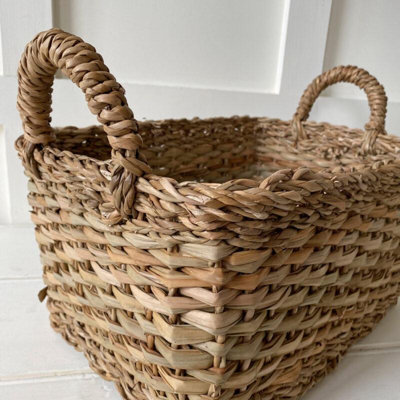 Seagrass Magazine Basket