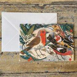 Mark Hearld Fold out Card - Winter Feast