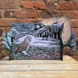 Owl Flight Advent Calendar by Angela Harding