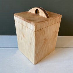Hardwood Caddy - Sycamore & Walnut