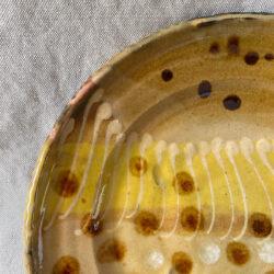 Burgundy Pottery Small Plate - FCPASI7