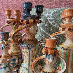 Burgundy Pottery