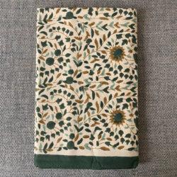 Block Printed Tablecloth - Clover Kollam