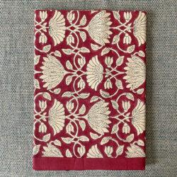 Block Printed Tablecloth - Ruby Savannah